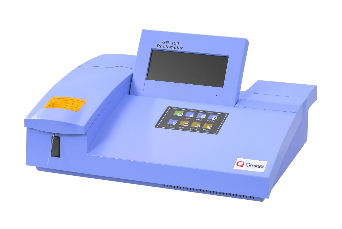 GP 100 desktop photometer